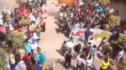 وقفة طلاب ضد الانقلاب جامعة المنوفية