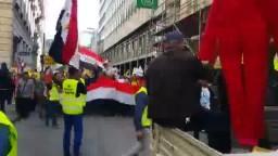 مسيرة فيينا ضد الإنقلاب العسكرى الدموى