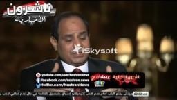 السيسي:لا أستطيع اطاحة مرسي بالأنتخابات