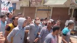 مسيرة قطور ضد الانقلاب جمعة قاطع رئاسة الدم