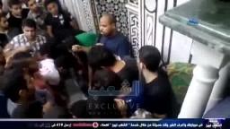 معجزة عند فتح القبر لدفن الشهيد محمد أيمن