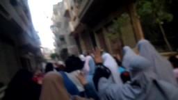 مسيرة نساء الدقهلية ضد الانقلاب بطلخا 19-5-2014