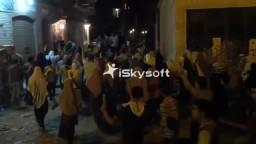 مسيرة ليلية تهز منطقة الفلكى بالإسكندرية