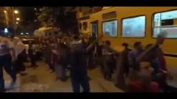 مسيرة حاشدة بمحرم بك لمقاطعة رئاسة الدم