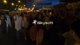 مسيرة بشارع الملاحة-انتفاضة السجون الثانية