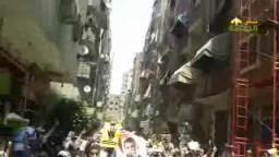 هتافات الاولتراس تهز مسيرة العمرانية