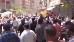 حشود غاضبة في مسيرة صفط اللبن