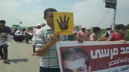 مسيرة بالاسماعيلية ضد تنصيب السفاح