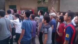 مسيرة قطور بالغربية ضد الانقلاب