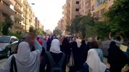 مسيرة أحرار أكتوبر في جمعة  الحرية لمصر