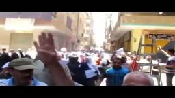 مسيرة مسجد المهدي بالمرج- سنحيا كراما