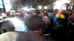 حشود الثوار في قلب ميدان طلعت حرب