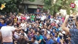 الالتراس يشعل مسيرة المطرية 3/ 7/ 2014