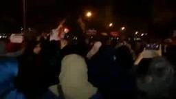 مسيرة حاشدة بالمنصورة تطالب برحيل السيسي