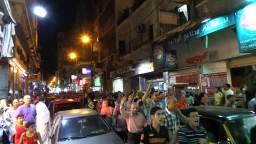 مسيرات حاشدة مناهضة للانقلاب بالأسكندرية