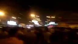 مسيرة ليلية فى المهندسين بالجيزة 08 -07-2014