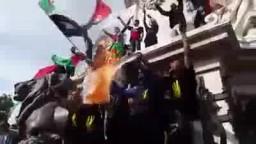 المانيا  أمواج بشرية هادرة  نصرةً لغزة