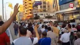 مسيرة لاحرار مدينة نصر قبل الافطار