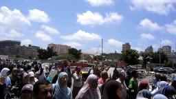 اسكندرية_مسيرة حاشدة ضد الانقلاب وتهتف لغزة