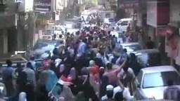 تغطية جانب من مسيرة عين شمس 18-7-2014
