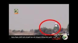 القسام تدمر دبابة ميركافا للصهاينة