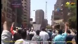 مسيرة حاشدة عقب صلاة الجمعة بالمهندسين