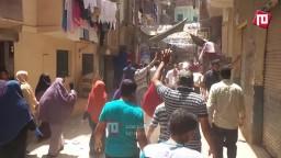مسيرة الفيوم قبل الاعتداء عليها 1/ 8/ 2014