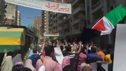 مسيرة بعد صلاة الجمعة بالعصافرة ضد الانقلاب