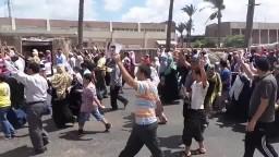 اسكندرية   مسيرة حاشدة لثوار المنتزه 8-8-2014