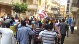 مسيرة بمدينة كفر الزيات 8-8-2014