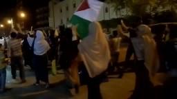 مسيرة لأهالي العوايد تنديدا بغلاء الاسعار