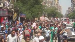 مسيرة العمرانية فى ذكرى مذبحة فض رابعة