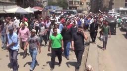 حشود اسطورية فى مسيرة الطالبية بالهرم