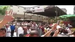 مسيرة مسجد القدسي 22_8_2014 القصاص مطلبنا