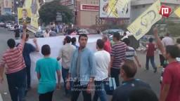 مسيرة مناهضة للانقلاب بشارع عباس العقاد