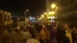 مسيرة بمدينة بنى سويف من قلب ميدان المديرية