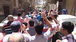 مسيرة حاشدة بشوارع العصافرة 29 -8- 2014
