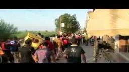 مسيرة غاضبة حاشدة لاهالى قرية البصارطة