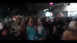 مسيرة ليلية حاشدة بالورديان 3 / 9 / 2014