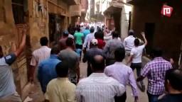 مسيرة حاشدة لأحرار المطرية-ثورة حتى النصر