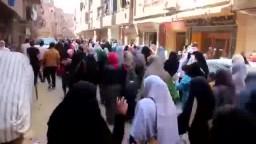 مسيرة شبرا والمطرية - جمعة ثورة حتى النصر