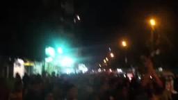 مسيرة ليلية  بالورديان ضد الانقلاب