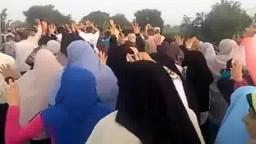 مسيرة أحرار دسوق على الطريق - قلين ضد العسكر