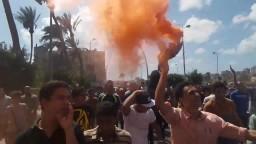 مسيرة حاشدة رافضة للانقلاب بمنطقة اسكوت