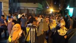 حشود بالعصافرة - قسم الثورة وعهد الشهيد