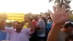 مسيرة لأحرار دسوق تهتف بإسقاط الانقلاب