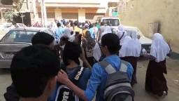 مسيرة لطلاب وطالبات المدارس - الفيوم