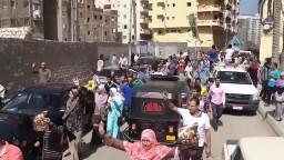 مسيرة بالملاحة تشعل الثورة فى جمعة_العدالة
