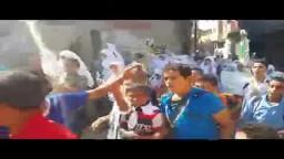 مسيرة طلاب ضد الانقلاب بالرواشدية 30 /9 /2014