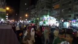 المنتزه مسيرة مفاجئة ضد الانقلاب
